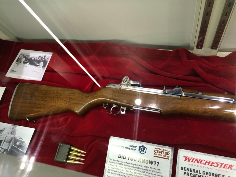 This particular rifle was presented by Winchester to General George Patton.