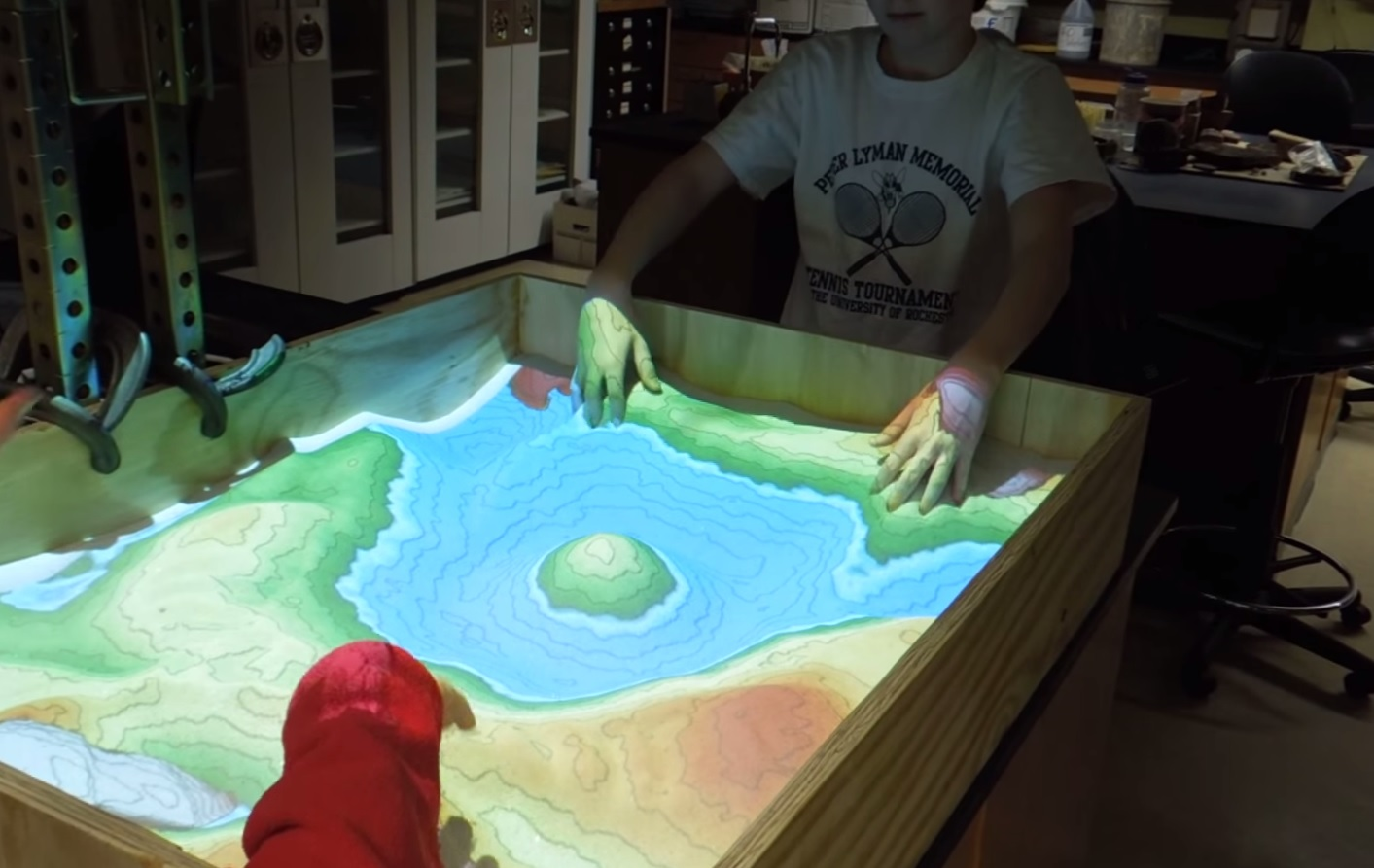 Topographic Map Games.Video Make Your Own Augmented Reality Topo Map With Sand Outdoorhub