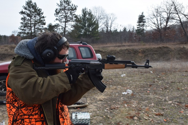 The Echo93 UFCR makes shooting a shouldered underfolder AK actually comfortable.