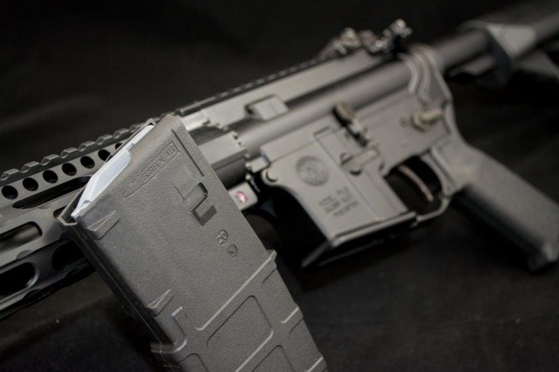 The standard DMR configuration already includes a slew of Magpul goodies.