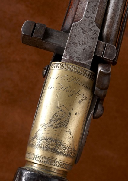 Designed in Italy and made in Austria, it's a mystery how the Girardoni air rifle ended up with Lewis and Clark.