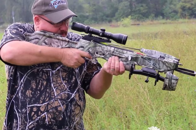 How do you cock a crossbow with a 290-pound draw weight? With your hands.