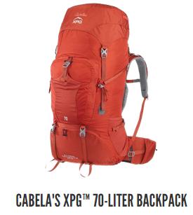 Cabela's XPG 70 Liter Backpack
