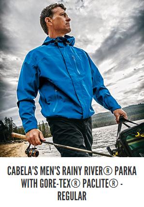 Cabela's Rainy River Parka With Gore Tex PacLite