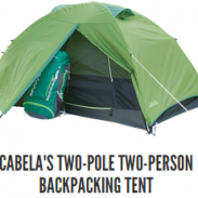 Cabela's Two Pole Two Person Backpacking Tent