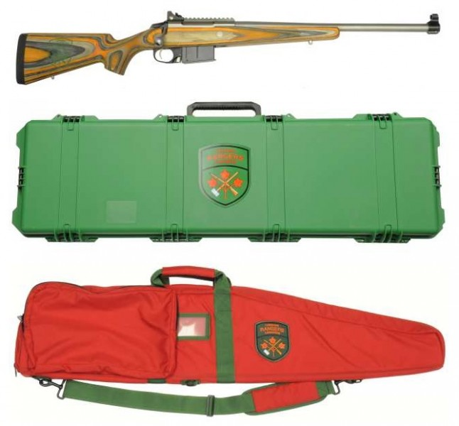 The new Sako rifle for the Canadian Rangers. Image is a screenshot of article on OttawaCitizen.com.