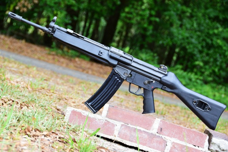 The C93 features a 16.25-inch barrel and traditional HK-style polymer furniture.