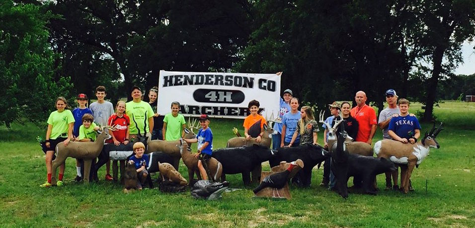 NRA Foundation Grants support local youth programs like the 4-H Archery club in Henderson County ,Texas.