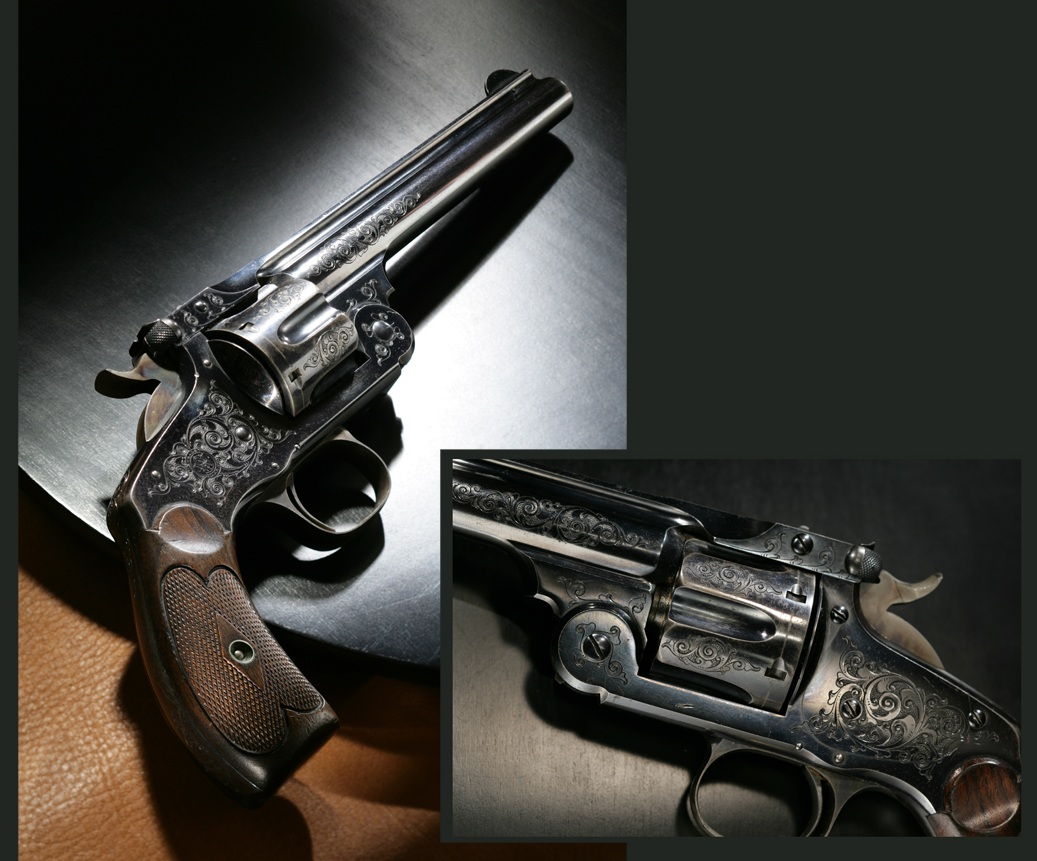 Teddy roosevelt guns to be displayed at nra national - Theodore Roosevelt S Smith Wesson New Model Number 3 Revolver In 44