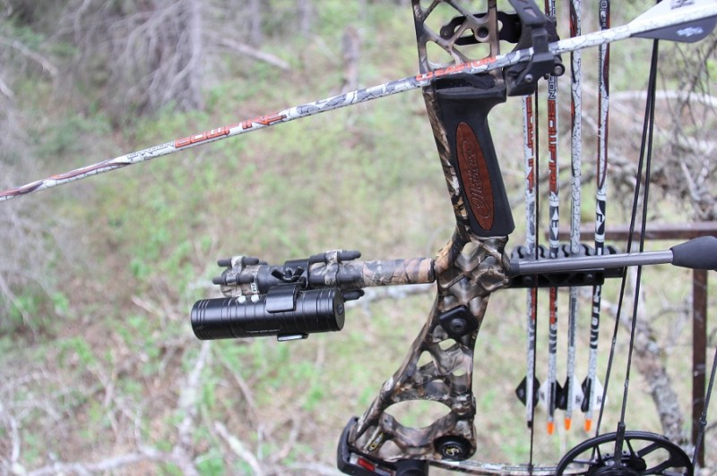 The Rush Cam is a good example of a camera that mounts to gun or bow and offers an excellent choice for a second angle.