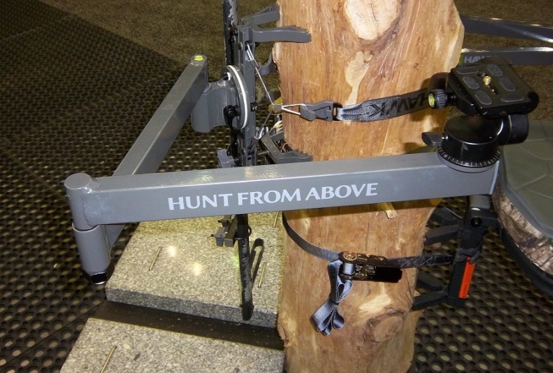 The Hawk Hunting Pro Camera Arm is an excellent investment which allows you to take great video and pan smoothly.