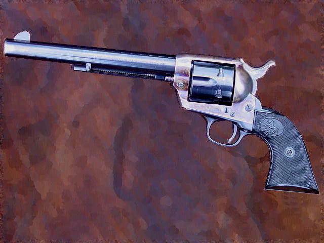 A second generation Colt SAA.