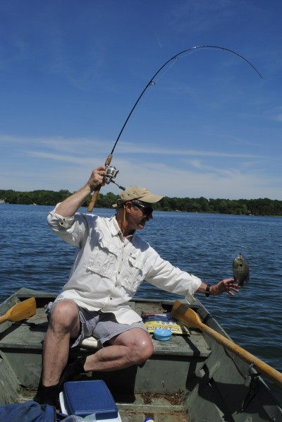 Bluegills are practically everywhere on Michigan's inland lakes.
