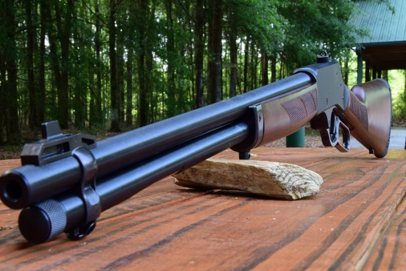 The Henry H009 features a well-made 20-inch barrel that gives up sub-2-MOA groups at the 100 yards.