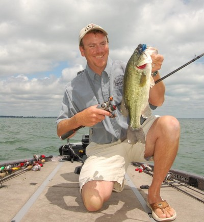 Although mostly known for smallmouths, Lake St. Clair boasts excellent largemouths, too.