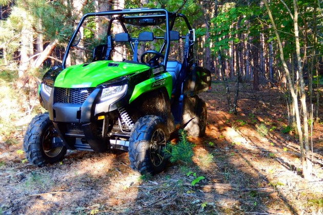 The 2016 Arctic Cat Prowler HDX 700 XT EPS is as good looking as it is functional.