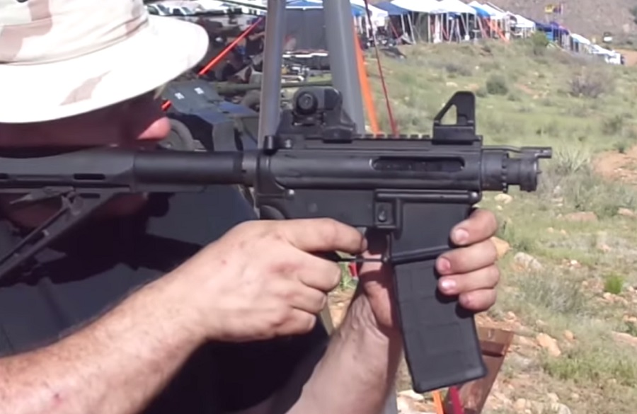 "Video: Is This the Shortest AR-15 ""Rifle"" Ever Made ..."