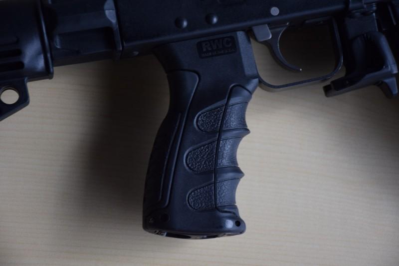 The UPG pistol grip.
