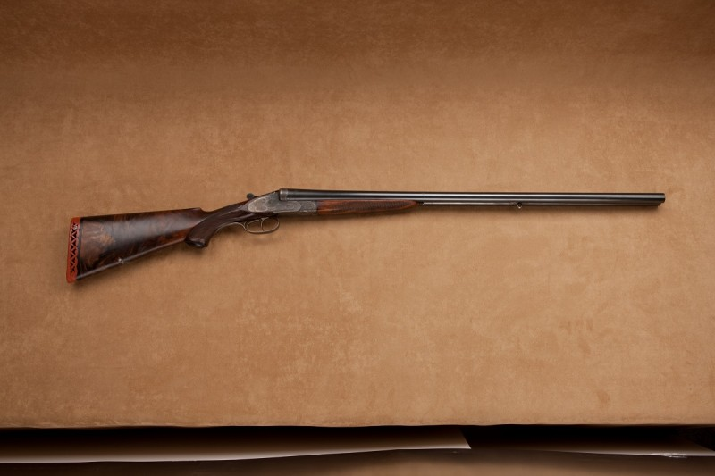 Annie Oakley's Harmbrusch shotgun at the National Firearms Museum.