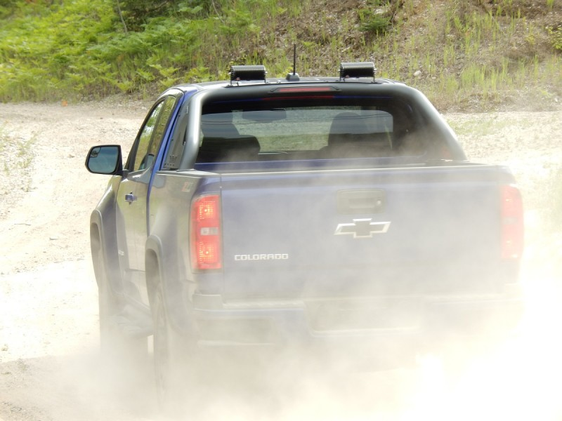 The Trail Boss handled all the terrain the author encountered with ease.
