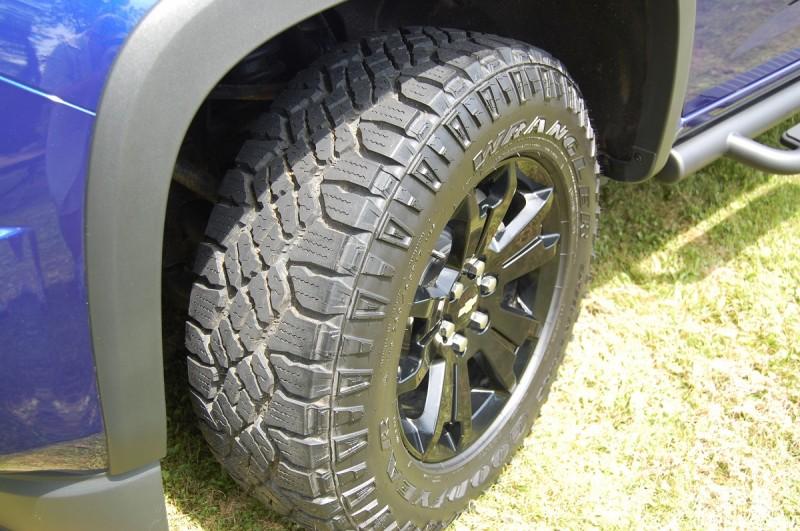The Trail Boss Goodyear Wrangler DuraTrac tires are no joke.