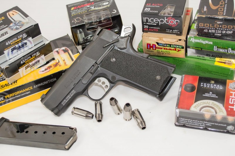 I tested the SW1911 Pro Series with a wide variety or self-defense ammo.