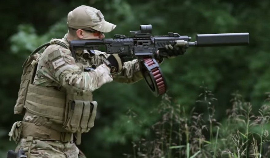 Suppressed Saiga 12 by Red Jacket Firearms [SuppressedRedJacketS ...