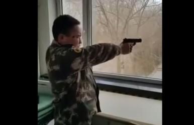 fakegunshooting