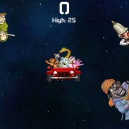 A screenshot from Cecil's Revenge, a game that allows players to gun down armed men in safari clothing.