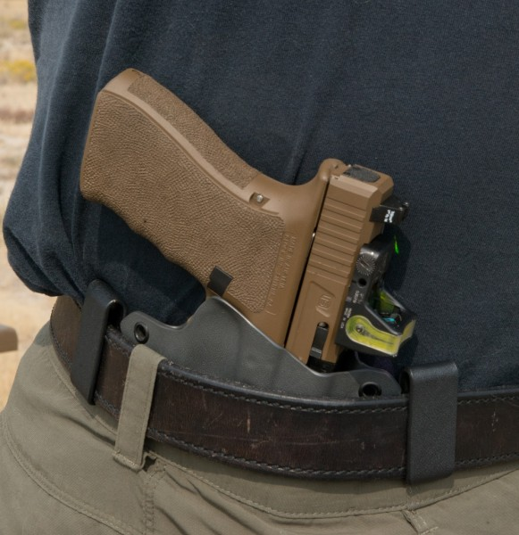 The G41 in an IWB holster.