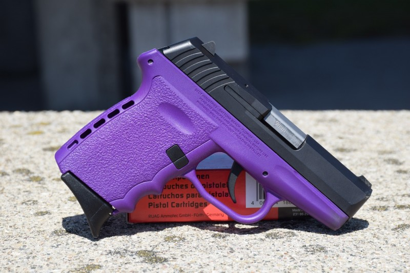 The CPX-2 is available in a variety of colors. Purple is clearly the best possible choice.