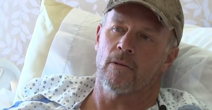 John Sain survived four days in the Idaho wilderness with a broken leg. He kept with him a survival kit, water purifier, some food, and a gun.