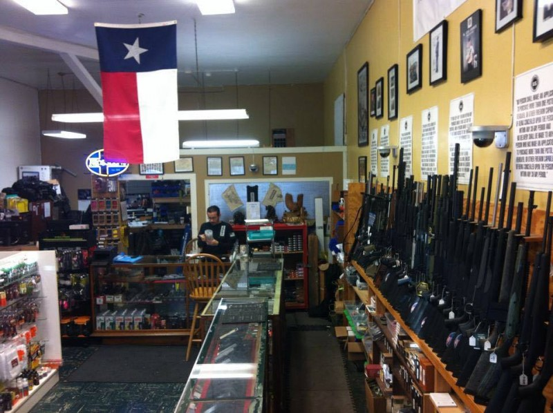 Inside the store hangs a Texas flag, which serves as a reminder of when fans and supporters encouraged the shop to move to Texas.