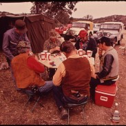Chances are your deer camp this season won't look exactly like this one in 1972. But if you recognize some of the equipment in this picture, it's time to upgrade.