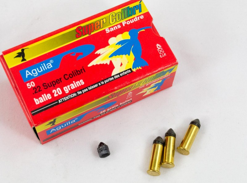 The powderless Aguila Super Colibri give your existing .22 the flexibility of an airgun.