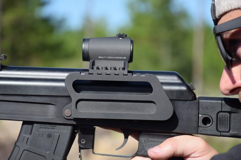 Century's new optic mount on the C39V2 SBR.