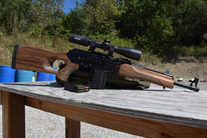 A Vepr rifle in 6.5 Grendel.