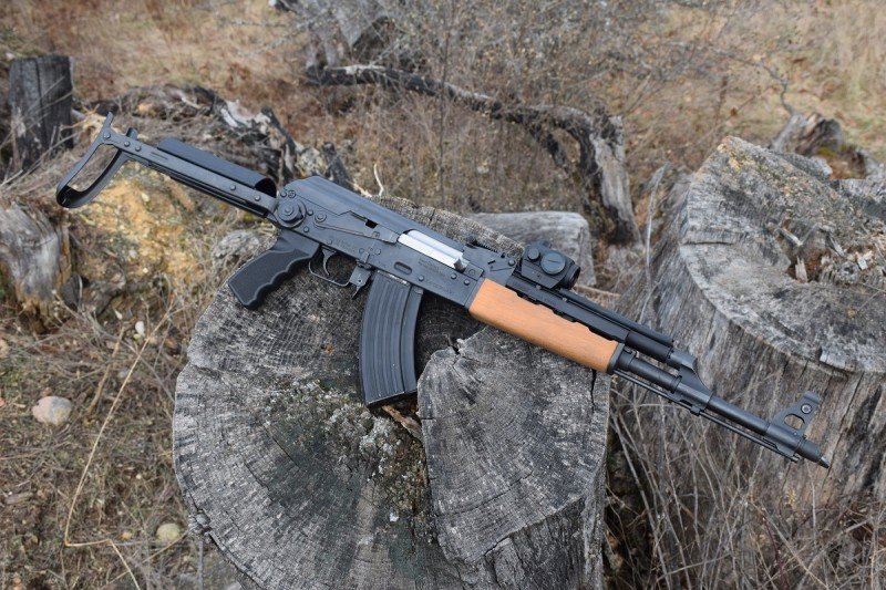 The author's Serbian-made N-PAP DF rifle. The base rifle was purchased for less than $600.