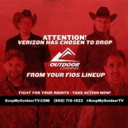 Verizon recently dropped two major outdoor channels from its FiOS TV lineup, and its customers are not  happy about it.