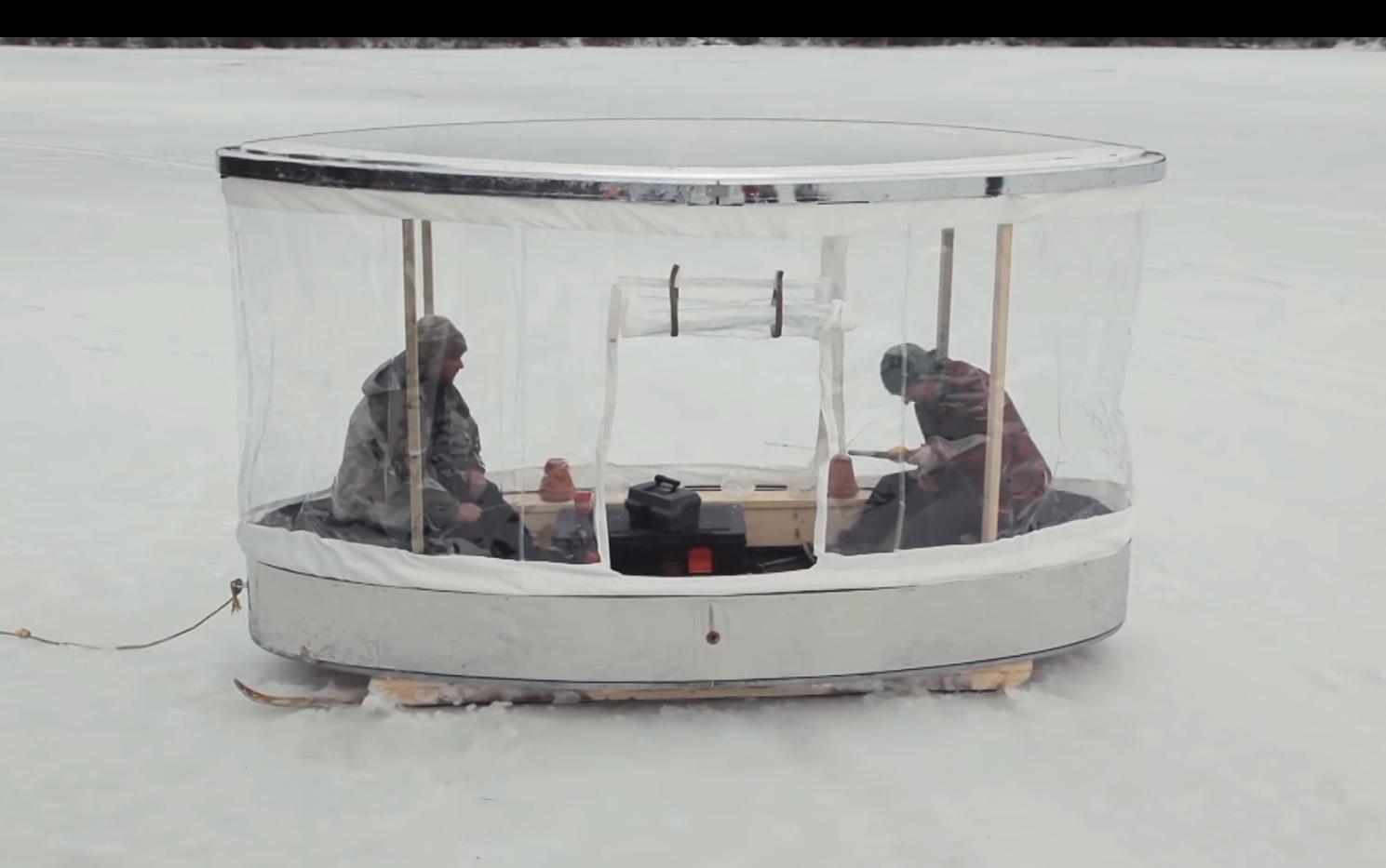 Portable Ice Fishing House
