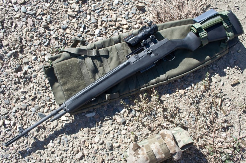 The author's M305 rifle.