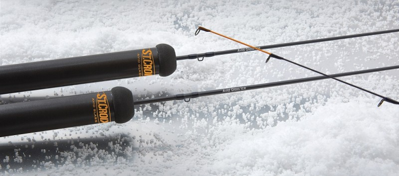 St. Croix Avid Glass rods. Image courtesy of St. Croix.