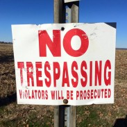 Officials advise hunters to make sure they have permission to hunt a property before they get there.