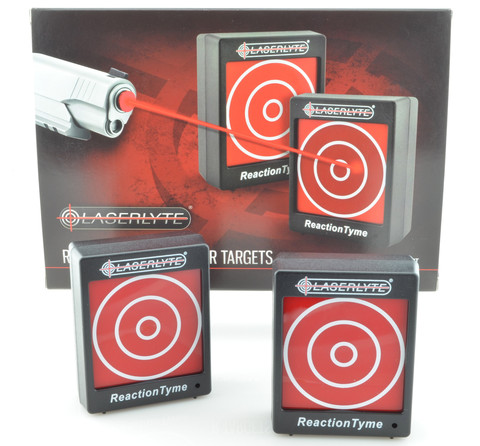 LaserLyte Reaction Tyme Targets. Image courtesy of LaserLyte.