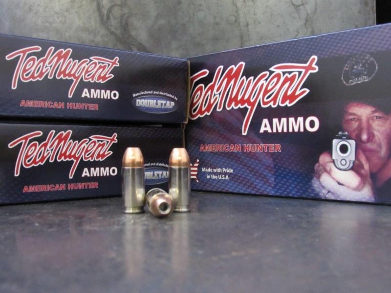 Doubletap's American Defender handgun ammo.