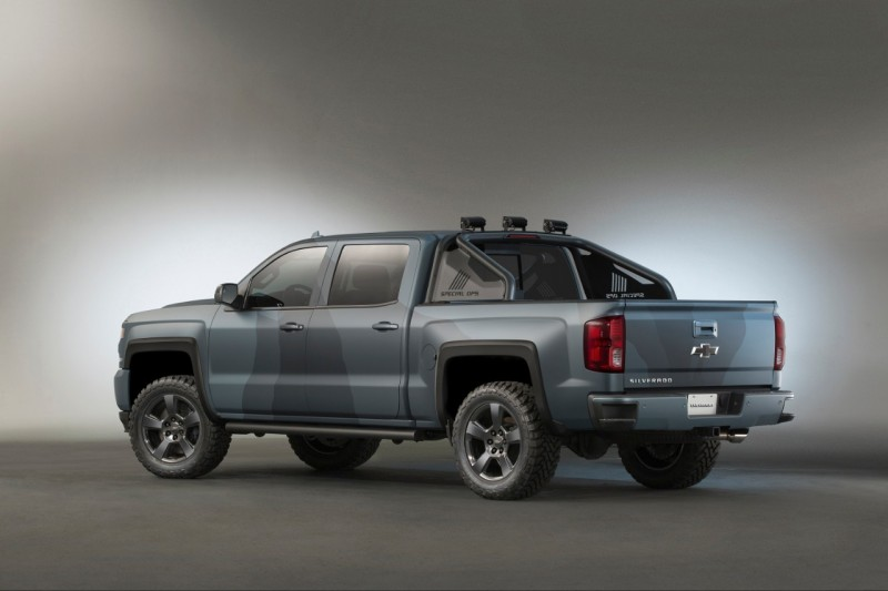 chevrolet announces new 2016 silverado special ops edition outdoorhub. Black Bedroom Furniture Sets. Home Design Ideas