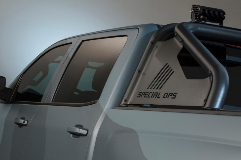 Chevrolet Announces New 2016 Silverado Special Ops Edition