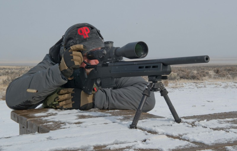 The action remained smooth and fast with all magazines tested.