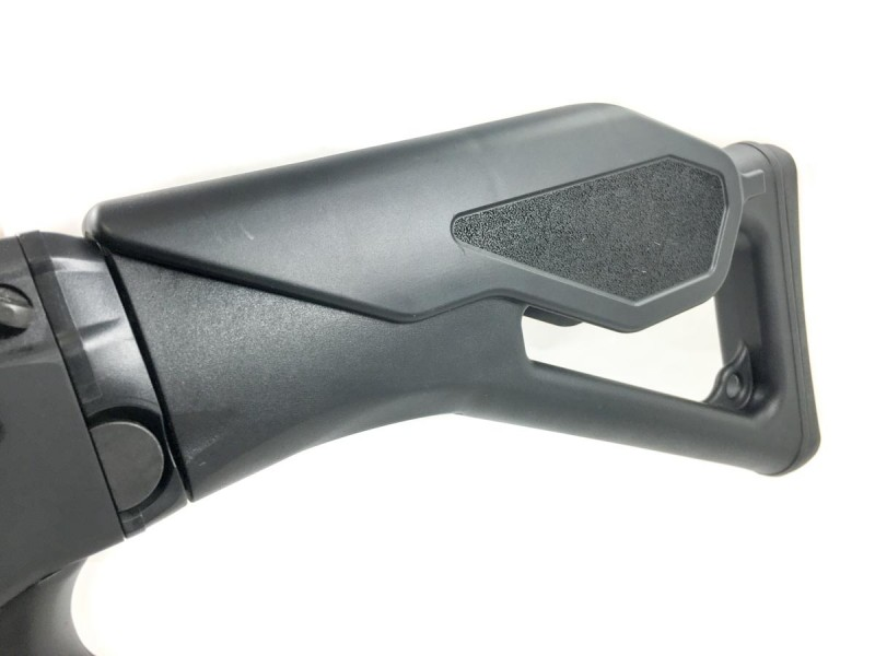 The cheek riser panel is a snap on or off component.