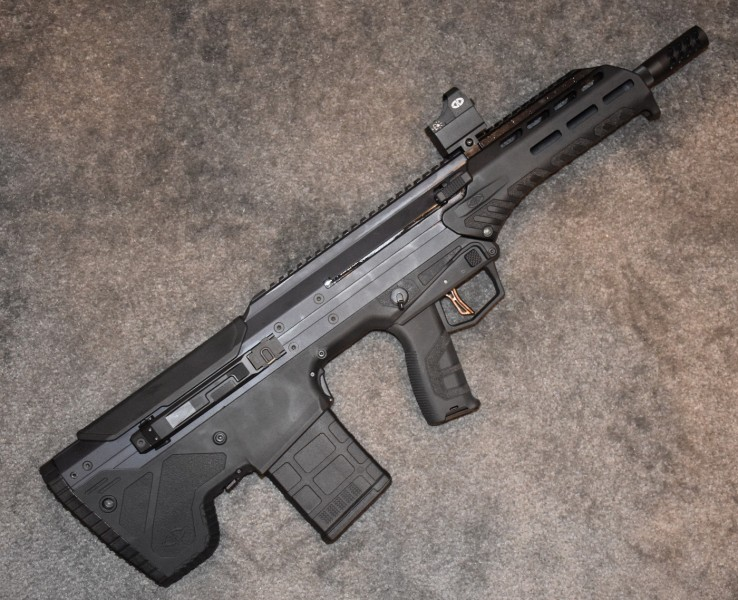 A black MDR in .308.